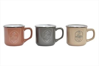 PATUKASA-MUG SET 3 MAISON 160ML
